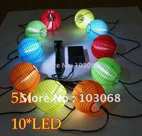 Solar Light Set 10 led Garden lanterns / light 8 hours lighting