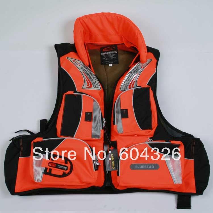 Free shipping.life jacket,life vest.bfishing jacket;buoyancy force>7.5KGS.quality.cheap.(China (Mainland))