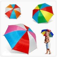 Fishing, travel,Sun umbrella hat,UV umbrella hat--Watermelon umbrella hat  free shipping