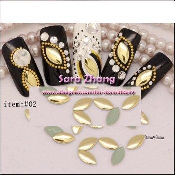 500 Rock Horse eye shape hot nail metallic decoration/nail art products/ nail decoration free shipping whole sale