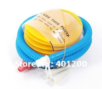 20pcs/ lot Multi-function foot-balloon pump / air pump portable yoga ball / inflatable tube durable effort