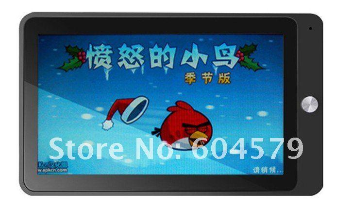 "7"" tcc8803 2.3 الروبوت telechips اللوحي 3g 512mb 4gb ألعاب دعم التسارع، hd الفيديو 1080p frree منتصف الشحن"