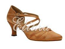 fashion women closed toe satin ballroom party latin dance shoes(China (Mainland))