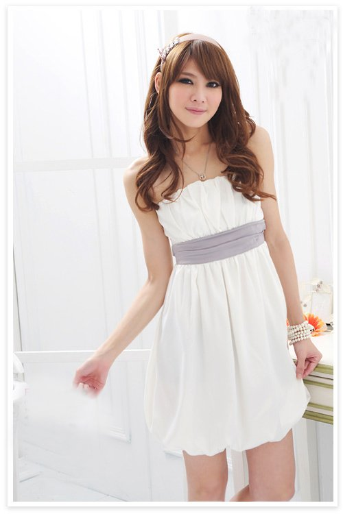Excelletn quality, silk tube dress(China (Mainland))