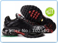 free ship fashion shoes black red casual shoes MEN SPORTS athletic RUNNING SHOE  wholesale and retail