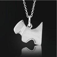 925 стерлингового серебра ожерелье.мода 925 серебряное ожерелье.серебряные ювелирные изделия