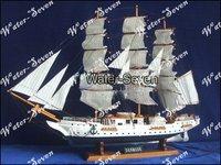 Model ship Danmark 75cm 29'' Historic Famous Ship Wood Free Shipping