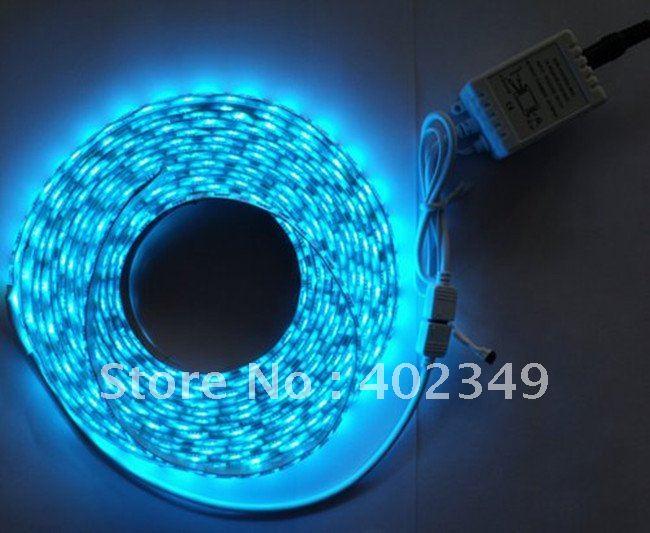 1 Year Warranty Flexible RGB 300xSMD 5050 LED strip waterproof +24 Key IR Controller Shops LED+ Discos LED +Clubs LED(China (Mainland))