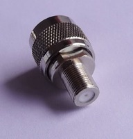 RF connector adapter N male to F female