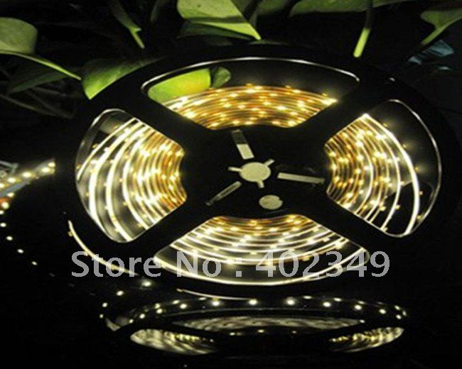 Free Shipping RGB Flexible LED Strip 5M 150 Leds SMD 5050 Waterproof +24 Keys IR Remote Controller CE/ROHS TOP SALE(China (Mainland))