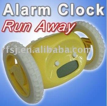 FREE SHIPPING, hot sale!! Running alarm clock / running clock/ Alarm running clock