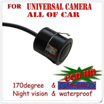 High quality CCD HD car camera auto DVD GPS  parking aid front /rear view universal camera vide angle wateproof PAL/NTSC