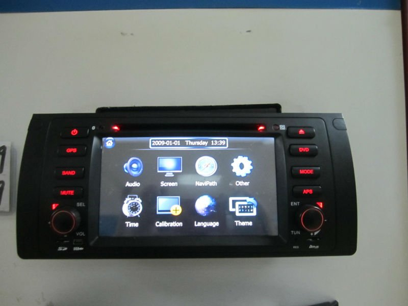 HOT 7 inch HD Car DVD for BMW E39/X5/E53/M5/5 Series with GPS navigation,buitl in dvb-t,ipod,aux-in,dual zone,free map,(China (Mainland))