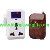 220V 500W White Color Wireless Remote Control AC Plug (With Remote)