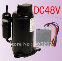 48vdc brushless inverter compressor for electric locomotive air-conditioning special vehicle telecom shelter underground saved