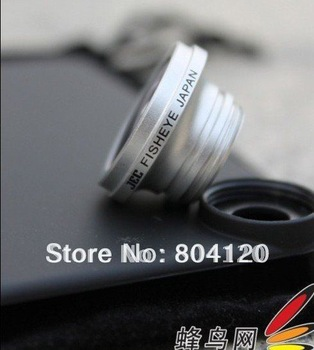 New promotion JEC 180 Fisheye Lens:IP-F180,for Iphone4 popular use drop shipping support