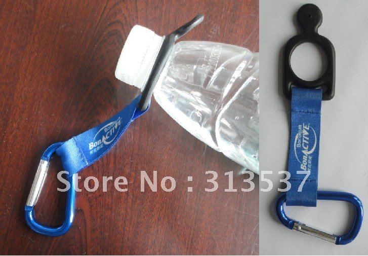 retail customized Silicone bottle holder& lanyard &Carabiner(China (Mainland))
