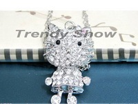 Free Shipping Hello Kitty Pendant Nacklace Jewelry Nacklace