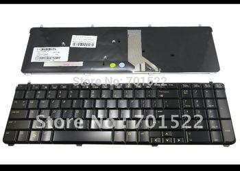 100% New Laptop keyboard for HP Pavilion dv7 dv7-2000 dv7-2100 dv7-3000 Series Glossy Black US - AEUT5U00110