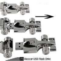 TRUE100% NEW! Formula One - F1 race car usb flash stick 2bg 4gb 8gb 16g usb flash drives