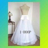 Free Shipping   PETTICOAT   White bridal hoops crinoline petticoat skirt slip