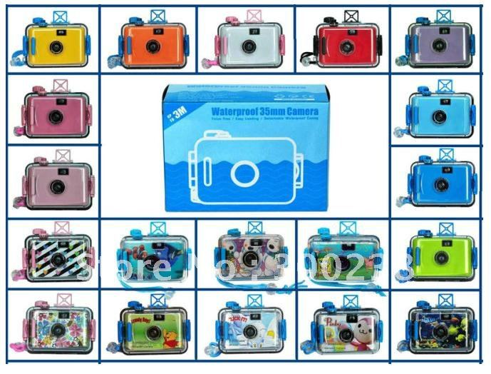 free shipping 35mm Film Diving Underwater / Waterproof camera(China (Mainland))