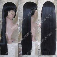 Jigoku shoujo Ai Enma Black Long Cosplay Wig