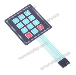 12-Key Membrane Switch Keypad Keyboard General Use(China (Mainland))