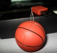 Free Shipping! basketball USB Flash Drive Creative novelty design U disk 2GB 100%real capacity(U052)