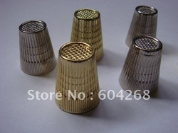 Free shipping 2 color Metal Sewing Finger Thimble 20/1lot(China (Mainland))