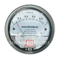 Free shipping 2pcs/lot differential pressure gauge(0-60pa,500pa,1kpa)