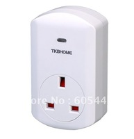 Free Shipping Z-Wave Plug In Dimmer Module TZ67E(UK plug) for Smart Home