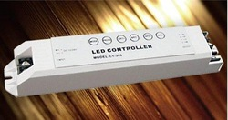 led rgb controller,CT308;5A*3 channel output,DC12-24V input(China (Mainland))
