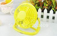60pcs/lot Mini USB Fan with 360 degree rotating mini computer USB fan Flexible USB Cooling fan for PC Computer Novelty Gifts