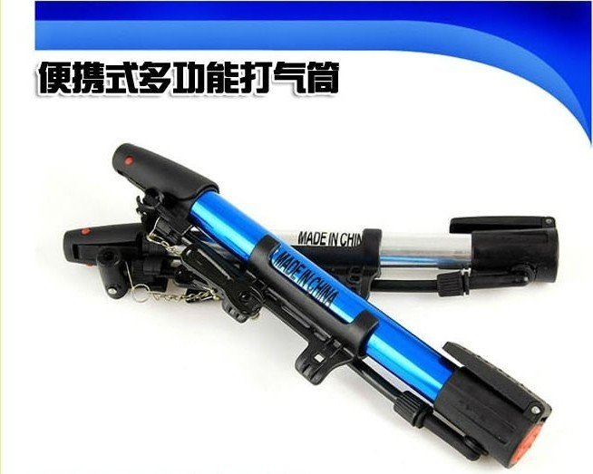 New mini bicycle pump bike pumps bicycle parts bike parts+free shipping(China (Mainland))