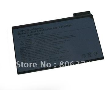 Free shipping & 8CELL-5200MAH Battery FOR  Dell 75UYF 1691P Latitude C600 C610 C640 CPI