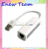 Free shipping new USB 2.0 Ethernet Adapter Hi-Speed 10/100Mb Adapter for macbook air pro