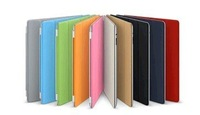 Free shipping wholesale ten colors 5PCs/lot  Magnetic Smart cover for ipad 2/ipad3 ,PU smart cover