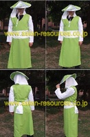 Wholesale Free Shipping Hot Selling Cheapest New Cosplay Costume CE3404 Naruto Sarutobi 5th Hokage
