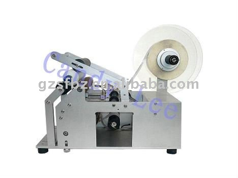 semi autometic round bottle labeling machine(China (Mainland))