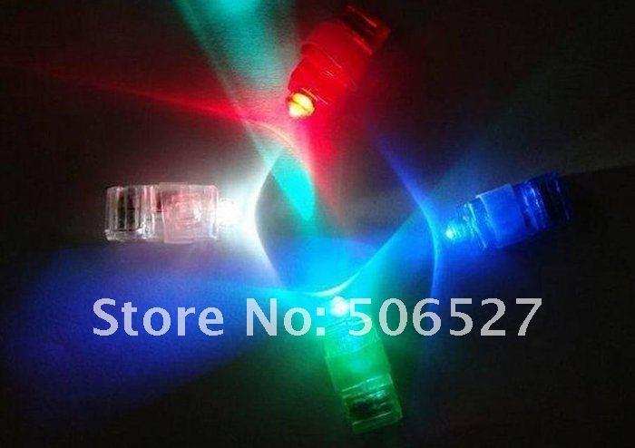 5000pcs/lot Laser finger finger flashlights LED Laser Finger light led light Christmas party Gift free shipping(China (Mainland))