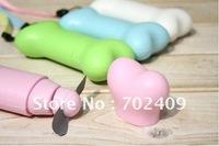 20pcs/lot Lovely mini bone shape fan Mini battery Fan mini portable Cooling fan Novelty Gifts