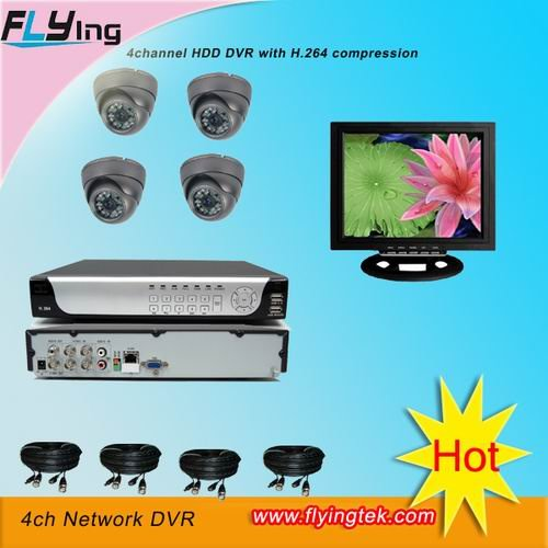 Video surveillance system for your home safety cctv camera security system free shipping(Hong Kong)