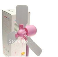 50pcs/lot Mini DIY USB fan Novelty Gifts Mini DIY portable USB Cooling fan for PC NB Computer