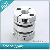 "Cnc Step Motor Coupler High Duty 1/2"" Flexible Coupling #007807-204"