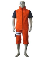 Wholesale Free Shipping Hot Selling Cheapest New Halloween Cosplay Costume CE3419 Naruto Mikazuki Animal Panic Uzumaki