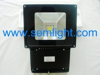 Hot sale highpower 80w outdoor lighting,led flood light,AC85-265V warm white with 2 years warranty