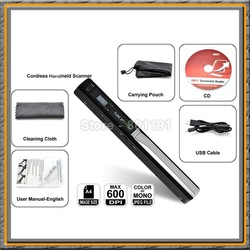 Travel Handyscan Scan Contract or ID Card Mini Portable Scanner(China (Mainland))