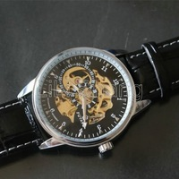 The new men's fashion watches Men's Watch listed automatic mechanical watch movement is hollow belt