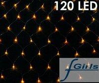 Yellow 120 LED NET lights for Party wedding garden,Christmas led light, 10pcs/lpot ,free shipping